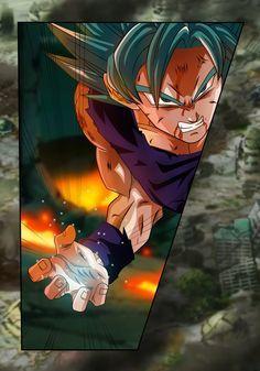 Goku Ssj blue- Manga 25 by Koku78