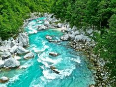 Soa River Slovenia   #landscape #river #slovenia #photography