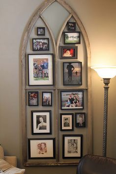 Window Frame with pictures