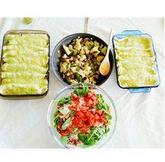 Cilantro Lime Drizzled Enchiladas - STYLEmeMINT