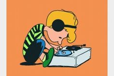 Charlie Brown DJ ... ehehe. OK where's the piano???!!!