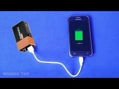 Construye un CARGADOR DE MOVIL CASERO PORTATIL CON USB (celular), muy facil y rapido. Learn how to make a charger for mobile. Aprende como construir tus prop...