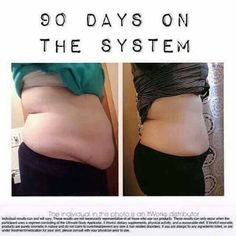 90 days on The System did this to her mommy tummy! Are you ready to find out what our products will do for you?!  PM me!