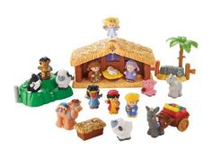 Fisher Price Little People Nativity Set.Your child can act out the Christmas story with the Fisher-Price Little People Nativity Set. Nativity Crafts, Christmas Nativity, Christmas Toys, A Christmas Story, First Christmas, Nativity Sets, Christmas 2019, Christmas Ideas, Holiday Ideas