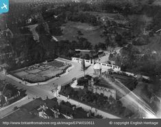 Middlesbrough in Britain from Above - DORMANS MUSEUM/CENOTAPH 1924