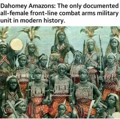 The all-female Wakanda army featured in Black Panther are actually partially based off a real century female army from Africa called the Ahosi. Women In History, World History, Today History, History Class, Dahomey Amazons, Folk, Black History Facts, African Diaspora, African Tribes