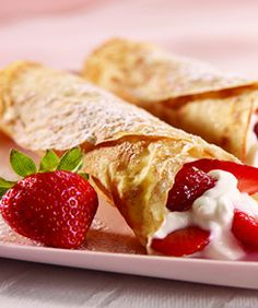 Strawberry Cheesecake Crepes « Marlene Koch