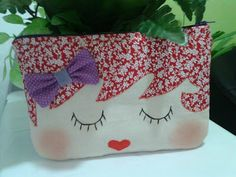 Cute Coin Purse, Diy Purse, Pouch Pattern, Purse Patterns, Small Sewing Projects, Sewing For Kids, Doll Crafts, Sewing Crafts, Pencil Bags