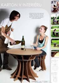 Resultado de imagem para mobiliário papelão