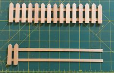 Sylvania Grove – Wood picket fences for Sylvanian Families dioramas and other miniatures Wood Picket Fence, Wooden Fences, Sylvanian Families, Playroom Ideas, Kid Stuff, Modeling, Tutorials, Garden, Flowers