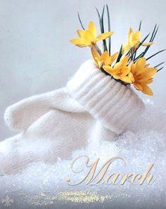 весна открытка