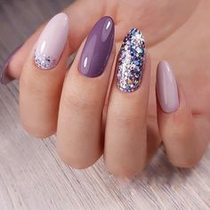 - Novelty and trends in manicure - Page 18 of 119 - Inspiration Diary Cute Nails, Pretty Nails, My Nails, Winter Nails, Summer Nails, Ongles Or Rose, Nailart, American Nails, Plaid Nails