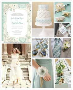 Boho Chic Wedding Inspiration Board