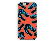 SALE! iPhone 5c case, 5c cover, Dinosaur iPhone Case, Jurassic Park iPhone 5c Case, Gift Ideas, Phone Cases, Orange iPhone 5c Case, Skull 5c
