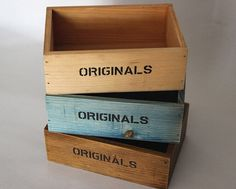 SmallDeco Rustic Wood wooden Box wood Tray by togreenlife2012,