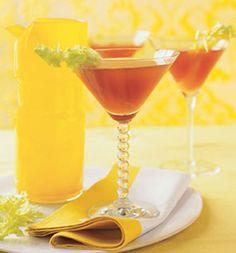 Bloody Mary Martini: Recipes: Self.com