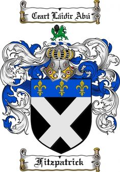 Starkey coat of arms starkey family crest instant download for Ryan fitzgerald tattoo
