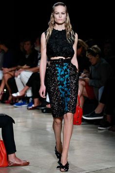 Miu Miu Spring 2015 Ready-to-Wear - Collection - Gallery - Look 1 - Style.com