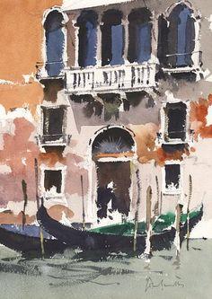 John Yardley #watercolor jd