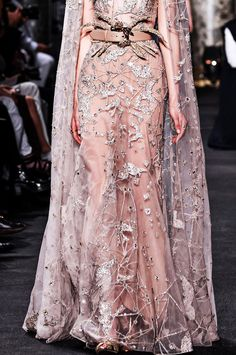 Elie Saab Haute Couture Fall/Winter 2016-17. Sparkles and Glamour | ZsaZsa Bellagio - Like No Other