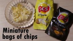 Miniature Bag Of Chips (Lay's Inspired) - Polymer Clay & Paper Tutoria by sugarcharmshop. Her miniature stuff is amazing.