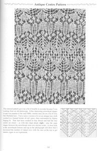 """Photo from album """"Heirloom Knitting by S. Lace Knitting Stitches, Knitting Paterns, Knitting Charts, Easy Knitting, Lace Patterns, Stitch Patterns, Crochet Patterns, Tricot D'art, Garter Stitch"""