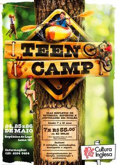 Teen Camp on Behance