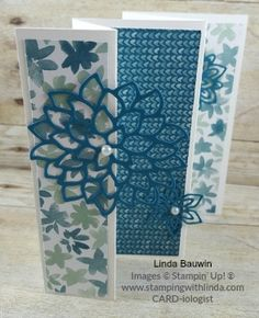 Linda Bauwin CARD-iologist Helping you create cards from the heart. #panelcard…