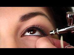 How To Do Bridal Makeup Using Dinair Airbrush Makeup