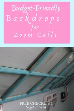 Figuring out the best backdrops for videos can be tough. We give you several DIY and budget-friendly solutions in this tutorial for Youtube, Zoom calls, or photography. Having multiple backdrops for photography can set you apart from other people. A DIY backdrop can be inexpensive yet look very professional. Let PinkToolGirl help you set up your backdrop for videos today.