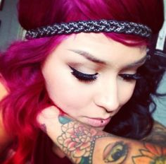 So pretty & 1 of my fav makeup artists, Lora Arellano.