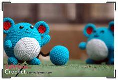 Marill - Pokemon - Free Crochet Pattern - Amigurumi