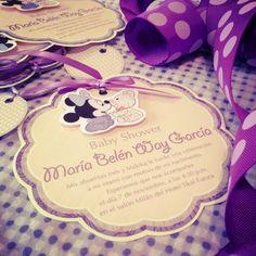 Invitación Minnie