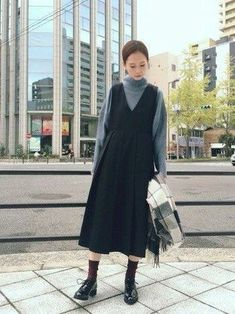 Korean Fashion – How to Dress up Korean Style Modest Outfits, Simple Outfits, Simple Dresses, Classy Outfits, Cute Dresses, Muslim Fashion, Modest Fashion, Hijab Fashion, Korean Fashion
