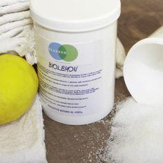 Acido citrico naturale al 100% , valido alleato in casa, viene molto apprezzato come anticalcare per le superfici e come ammorbidente per il bucato.  http://www.blueeco.it/products-page/ecobucato/biolemon/