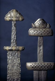 Viking Age swords from Norway. c. 10th century.
