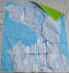 Seattle baby quilt