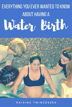 Having a Water Birth