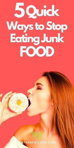 Are you a junk food junkie? Maybe you've never met a dessert you didn't love, or maybe you prefer salty potato chips and fries. Either way, if you overindulge, you're loading your body with calories while depriving it of real nutrition. Eating junk food is fine in moderation and on special occasions, but what about those junk food cravings that hit you at the most inconvenient times? Today you will learn five proven ways to stop eating junk food. #junkfood #junkfoodcravings #stopjunkfood