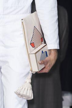 41 details photos of Anya Hindmarch at London Fashion Week Spring 2015.