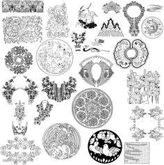 中国传统纹样 - Google 搜索