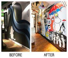 PLANarama for The Moomin Shop. Moomin Shop, Moomin Valley, Retail Interior, Interiors, Shopping, Decoration Home, Decor, Deco