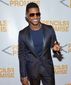 Spotted: Usher & Estelle At Pencils Of Promise Gala Celebrity Crush, Celebrity Style, Classic Singers, Usher Raymond, Hollywood Music, Retro Fashion, Mens Fashion, New Girlfriend, Best Dance
