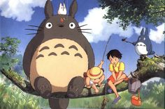 The Animator Behind Totoro and Spirited Away Is Opening a Nature Sanctuary in Japan by hypebeast #Japan #Nature_Center