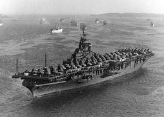 USS Lake Champlain (CV-39) at Norfolk