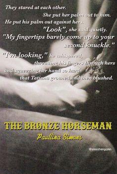 Made by @sissizhangqian -The Bronze Horseman by Paullina Simons