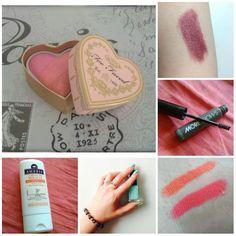 Derniers swatchs déposés par les #Vanities sur www.monvanityideal.com Merci les filles !  #monvanityideal #swatch #beauté #makeup #beautyaddict #blush