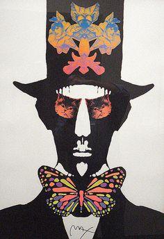 Peter Max Poster: DeYoung Museum, San Francisco