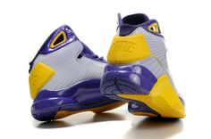 Nike Hyperize Kobe Bryant Olympic 1 Yellow purple silver Shoes