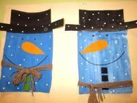 Výtvarná výchova ve 3. třídě - zimní náměty